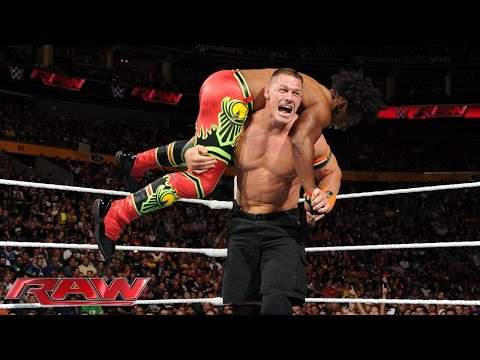 Thumbnail: John Cena vs. Xavier Woods - United States Championship Match: Raw, Sept. 28, 2015
