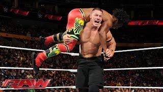 vuclip John Cena vs. Xavier Woods - United States Championship Match: Raw, Sept. 28, 2015