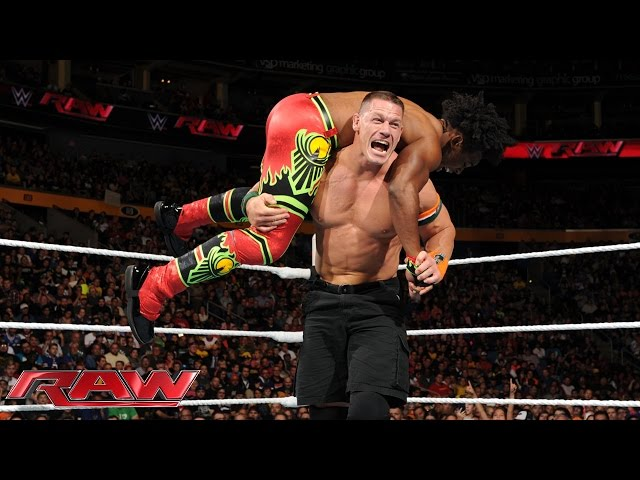 John Cena vs. Xavier Woods - United States Championship Match: Raw, Sept. 28, 2015