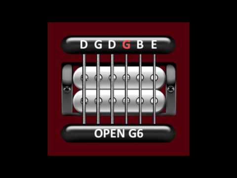perfect guitar tuner (open g6 = d g d g b e)