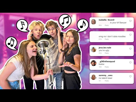 I Dont Date Noodles **OFFICIAL MUSIC VIDEO**🎶🎤| I Made A Song Out Of Hate Comments Sawyer  Sharbino