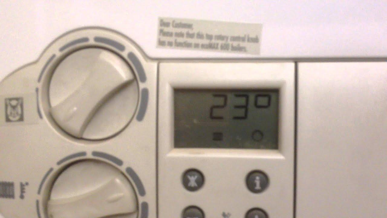 Ecomax System Boiler F28v Youtube