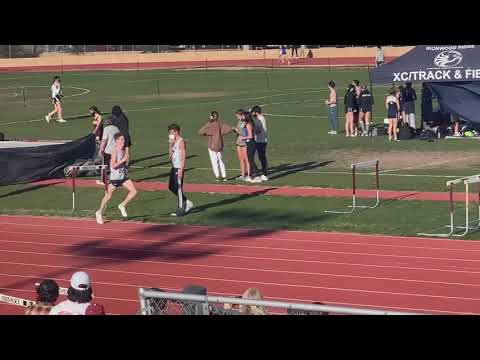 First 1600m Race of the 2021 Ironwood Ridge High School Track Season.