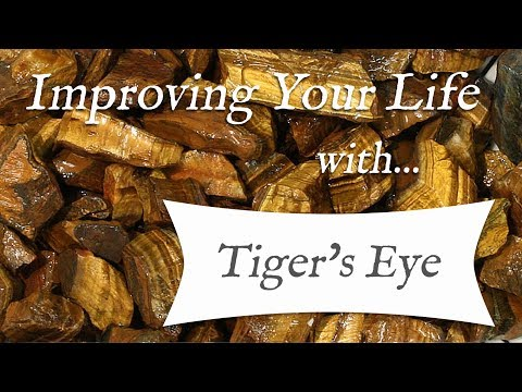 TIGER'S EYE 💎 TOP 4 Crystal Healing Benefits Of Tiger's Eye! | Stone Of Sun & Earth