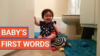 Babies' First Words Video 2017 Compilation