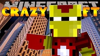 Minecraft Crazy Craft 3.0 : IRON MAN JOINS THE TEAM #32