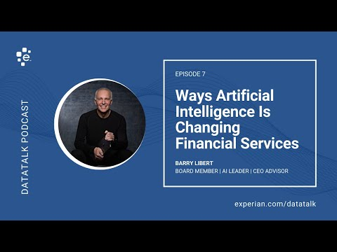 How Artificial Intelligence  is Changing the Financial Services Industry @BarryLibert