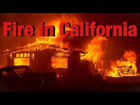 Fire in coarsegold California