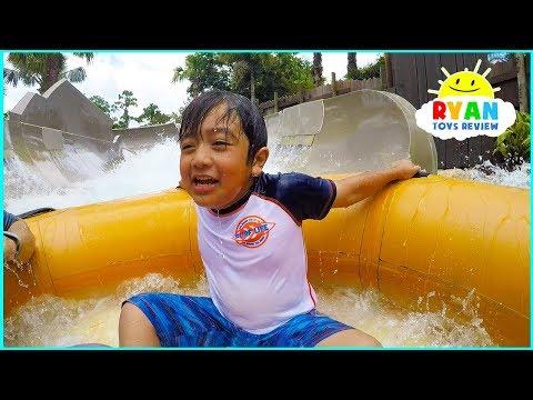 Disney World Water Parks Wave Pools and Water Slides at Typhoon Lagoon