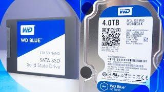 """Review SSD BLUE 1TB y DISCO RIGIDO HÍBRIDO 4TB de WD - """"La Pareja Perfecta!"""
