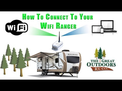 RV WiFi Extender & Booster WiFiRanger Sky How To Connect Walkthrough Colorado RV Camper Dealer