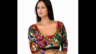 Latest Sleeveless blouse online shopping at low price in India from Sopingkart