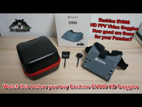 Фото Watch this before you buy Eachine EV900 1080P HD FPV Video Goggles