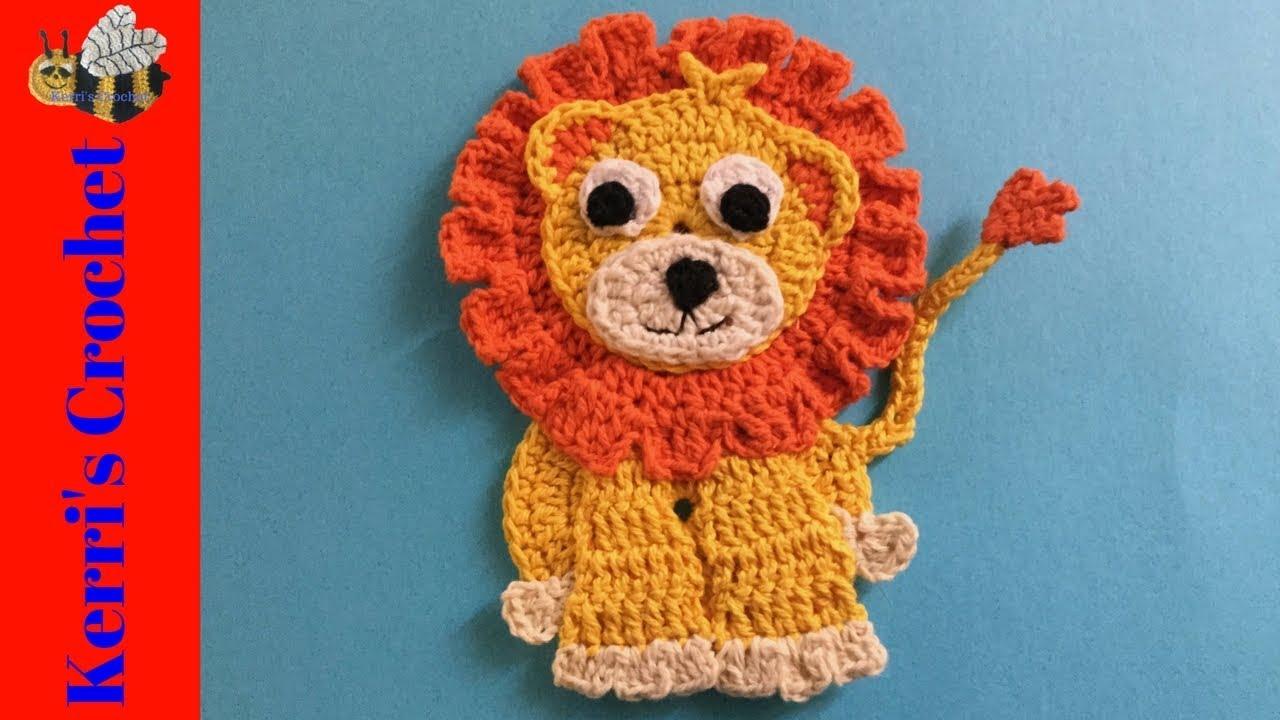 Amigurumi – Saroo the lion - crochet – tutorial by Nina-and-Lou ... | 720x1280