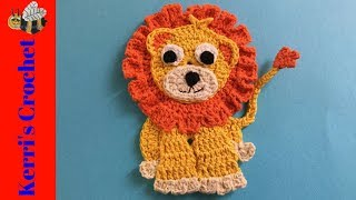 Crochet Lion Tutorial