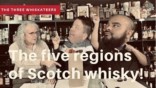 The 5 regions of Scotch Whisky!