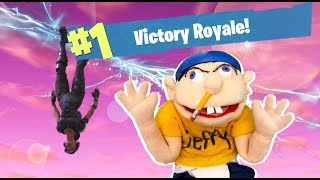 A WIN ON FORTNITE WITH JEFFY!!! (LANCETHIRTYACRE FROM SML!)