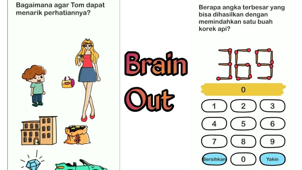 Kunci Jawaban Game Brain Out Level 46 Sampai 58 Youtube