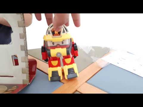 UNBOXING ROBOCAR POLI ROY ACTION PACK SUPER FIREMAN [BAHASA INDONESIA]