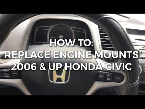 HONDA CIVIC LOUD VIBRATION NOISE FIXED! - ENGINE MOUNTS NOISE FIXED FAST AND EASY