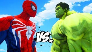 THE HULK VS SPIDERMAN (PS4) - EPIC SUPERHEROES BATTLE