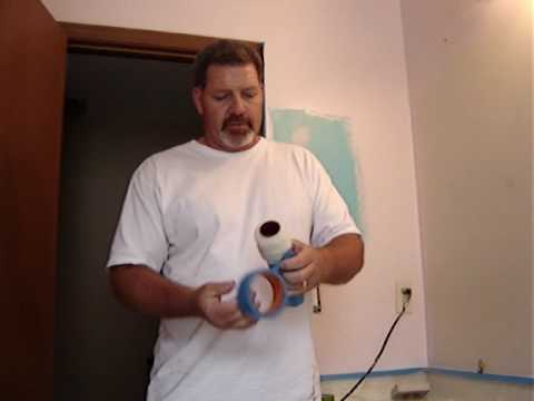 Painting How-To : Preparing a Roller Cover