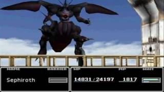 Final Fantasy VII - Sephiroth Vs Ultima Weapon