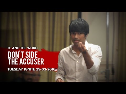 Kirby de Lanerolle | Don't side the Accuser | 29-03-2016