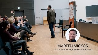 AVP Thought Leaders' Talk by Mårten Mickos