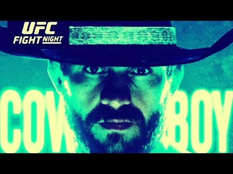 """Donald """"Cowboy"""" Cerrone Vs Justin Gaethje Facts / Preview (UFC Vancouver)"""