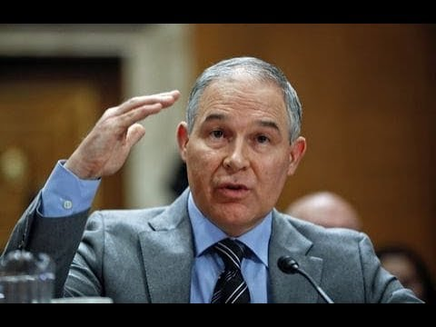 EPA Head Lived In Lobbyist's Condo