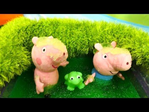 Свинка Пеппа игрушки, купить наборы Peppa pig в Москве