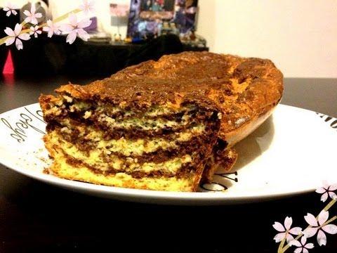 [cuisine]-recette-régime-:-le-gâteau-marbré-♡