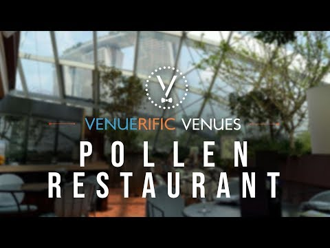 restaurant pollen fine dining restaurant at gardens by the bay