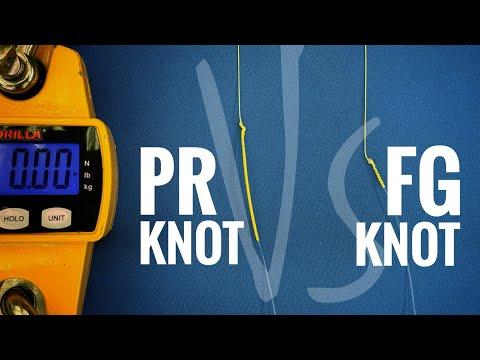 FG Knot Vs PR Knot FISHING LINE STRENGTH TEST