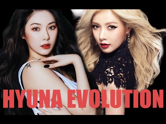 HYUNA's EVOLUTION 2009-2016 (FULL VIDEOGRAPHY)