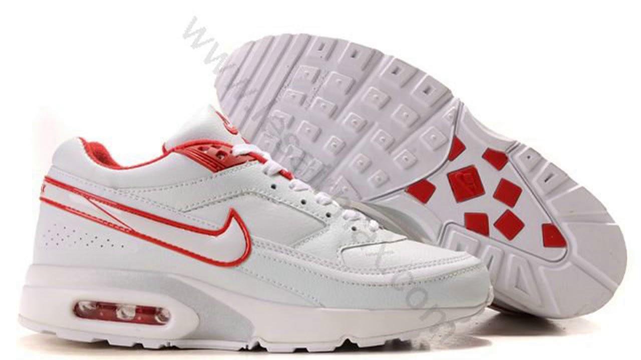 pas cher pour réduction 5b4cb 6f879 Chaussures Nike air max BW femme Pas cher Blanc et Rouge,air max  360,marques pas cher