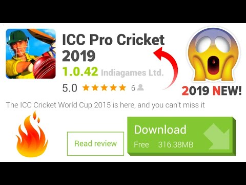 ICC Pro Cricket 2019 APK For Android | NEW Cricket Game !! Download Now & New Features!