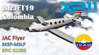SKSP-MSLP   EPIC G1000    BIZJET 19 COLOMBIA LEG 3   FULL TUTORIAL / PASO A PASO DESDE 0