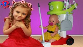 Детский игровой набор для уборки | Игрушки для детей | Children's play set for cleaning