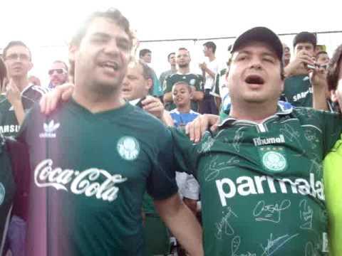 Rodrigo Pinotti canta hino da Sociedade Esportiva Palmeiras 6ee508e6d640e
