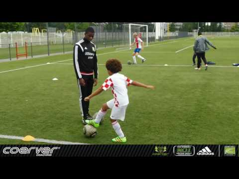 Coerver Performance Academy with 6 yr old football talent Levi