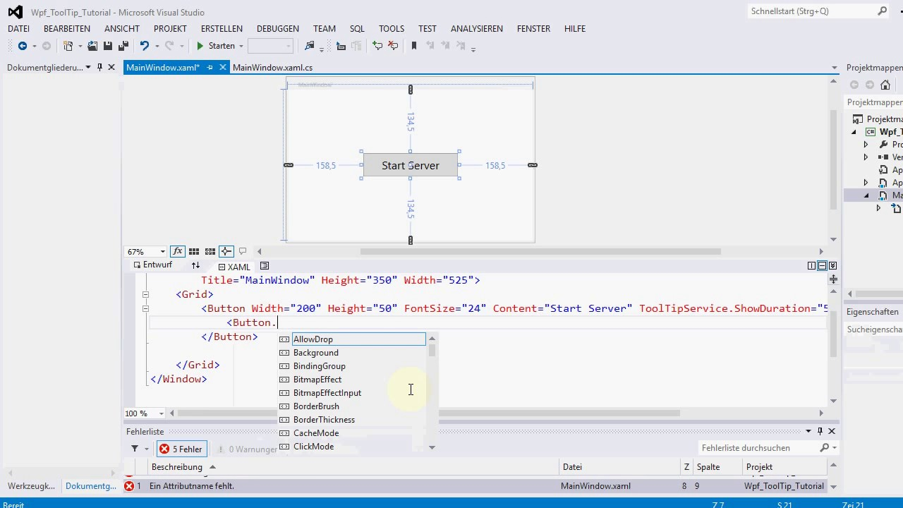 Wpf Fontsize Binding How can I change FontSize in Style of