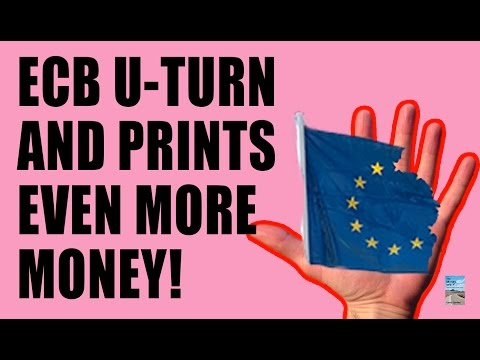 EU DEFLATION Intensifies as ECB PANICS and Increases Bond Buying by 40%!