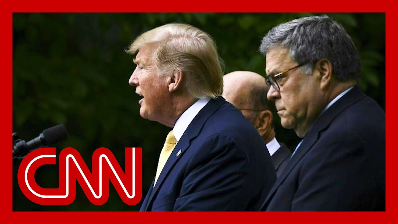 Washington Post: Trump asked Barr to hold news conference clearing him on Ukraine
