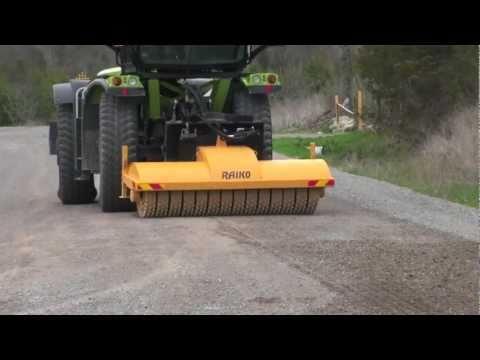 Raiko For Road And Gravel Runway Maintenance