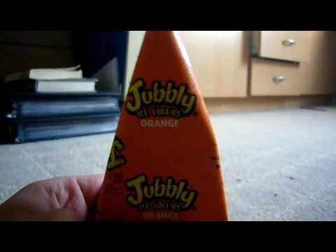 Jubbly Orange Ice Lolly Review Youtube
