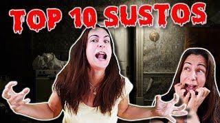 TOP 10 SUSTOS DE JUEGOS DE TERROR EN REALIDAD VIRTUAL | Especial Halloween #2
