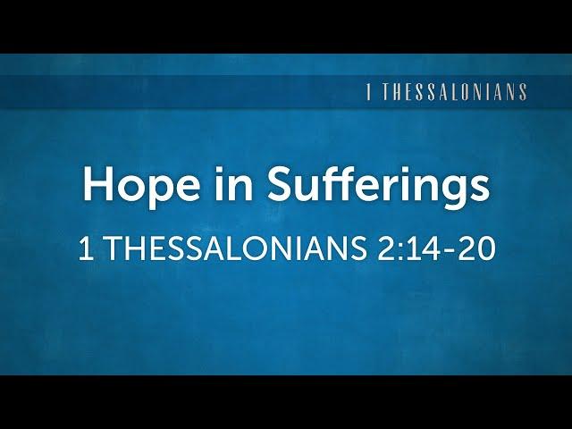 Hope in Sufferings