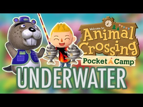 Animal Crossing: FISHING TOURNAMENT + UNDERWATER CAMPSITE